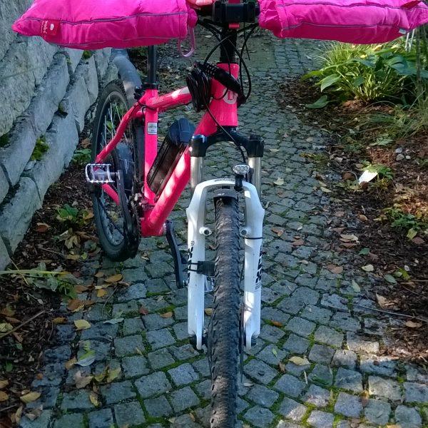 Fahrrad Handschuhe Winter pink