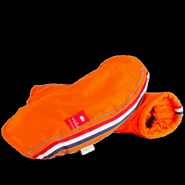 Fahrrad Handschuhe Winter orange